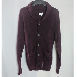 Sonoma Chunky Knit Wool Blend Button Cardigan NWT